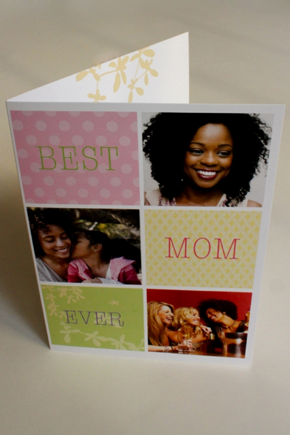 Cool Photo-Montage Mother's Day card