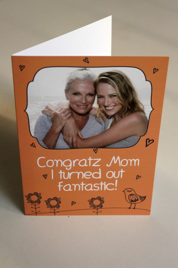Funny & personal Mother's Day Card