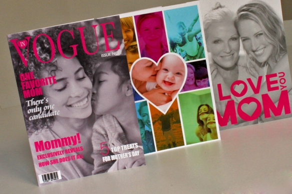 Photo-Montage Mother's Day Cards