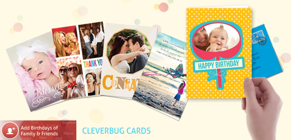 add friends and family to your Cleverbug apo