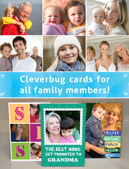 Cleverbug cards for all the Family!