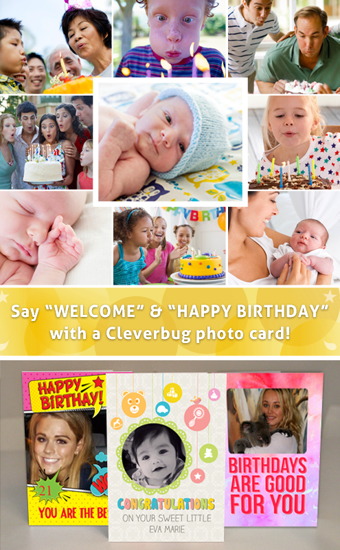 Send a Cleverbug Birthday Card!