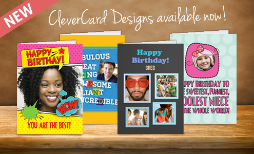 New CleverCard Designs